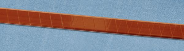Copper rectangular wire with Polyamide Film